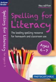 Spelling for Literacy for ages 6-7, Paperback / softback Book