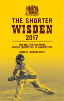 Wisden Cricketers' Almanack 2017, Hardback Book