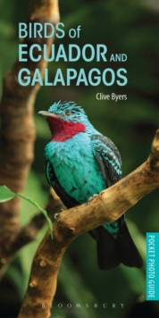 Birds of Ecuador and Galapagos, Paperback Book