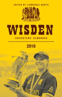 Wisden Cricketers' Almanack 2018, Hardback Book