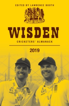 Wisden Cricketers' Almanack 2019, Hardback Book