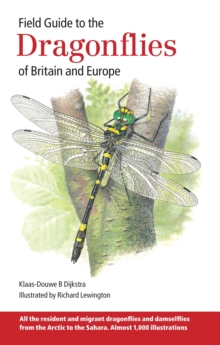 Field Guide to the Dragonflies of Britain and Europe, Paperback / softback Book