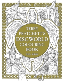 Terry Pratchett's Discworld Colouring Book, Paperback Book