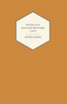 Notes of a Son and Brother (1914), EPUB eBook