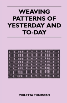 Weaving Patterns of Yesterday and Today, EPUB eBook