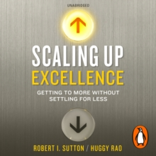 Scaling up Excellence, eAudiobook MP3 eaudioBook