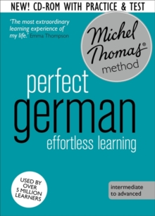Perfect German Intermediate  Course: Learn German with the Michel Thomas Method, CD-Audio Book