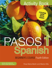 Pasos 1 Spanish Beginner's Course (Fourth Edition) : Activity book, Paperback Book