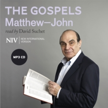 NIV Bible: the Gospels : Read by David Suchet, CD-Audio Book