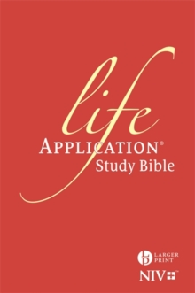 NIV Larger Print Life Application Study Bible (Anglicised) : Hardback, Hardback Book
