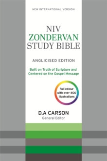 NIV Zondervan Study Bible (Anglicised) : Leather, Paperback Book