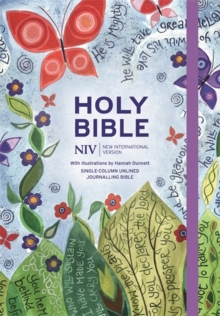 NIV Journalling Bible Illustrated by Hannah Dunnett, Hardback Book