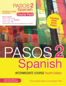 Pasos 2 (Fourth Edition) Spanish Intermediate Course : Course Pack, Mixed media product Book