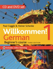 Willkommen! 1 (Third edition) German Beginner's course : CD and DVD set, CD-Audio Book