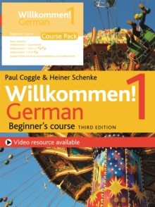 Willkommen! 1 (Third edition) German Beginner's course : Course Pack, Mixed media product Book