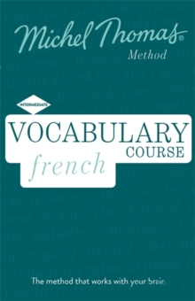 French Vocabulary Course (Learn French with the Michel Thomas Method), CD-Audio Book