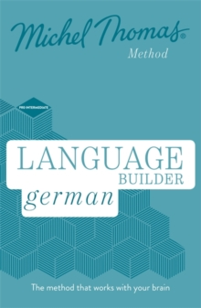Language Builder German (Learn German with the Michel Thomas Method), CD-Audio Book
