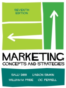 Marketing : Concepts and Strategies, Paperback Book