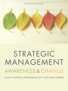 Strategic Management : Awareness and Change, Paperback / softback Book