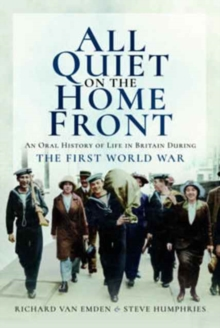 All Quiet on the Home Front, Paperback / softback Book