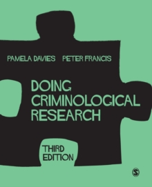 Doing Criminological Research, Paperback / softback Book