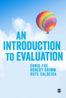 An Introduction to Evaluation, Paperback / softback Book