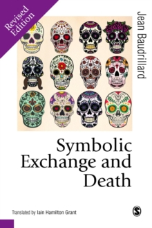Symbolic Exchange and Death, Paperback Book