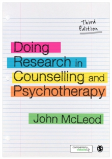 Doing Research in Counselling and Psychotherapy, PDF eBook