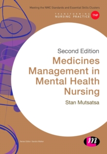 Medicines Management in Mental Health Nursing, Paperback / softback Book