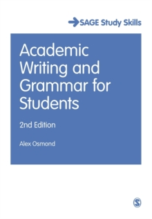 Academic Writing and Grammar for Students, Paperback / softback Book