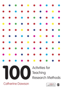100 Activities for Teaching Research Methods, Hardback Book