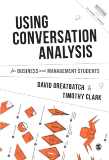 Using Conversation Analysis for Business and Management Students, Hardback Book