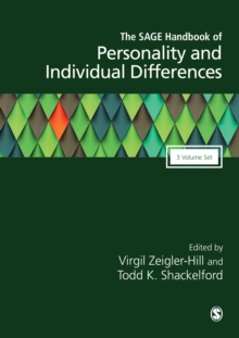 The SAGE Handbook of Personality and Individual Differences, Hardback Book