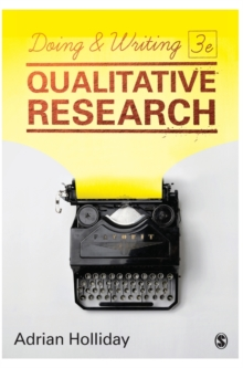 Doing & Writing Qualitative Research, Hardback Book