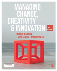 Managing Change, Creativity and Innovation, Paperback / softback Book