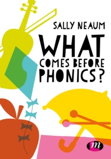 What Comes Before Phonics?, Paperback Book