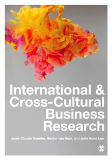 International and Cross-Cultural Business Research, Paperback / softback Book