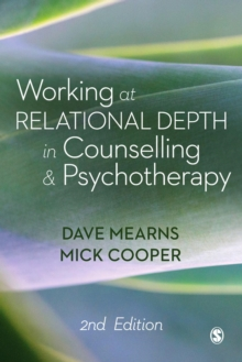 Working at Relational Depth in Counselling and Psychotherapy, Hardback Book