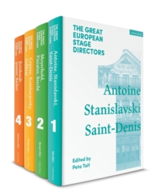 The Great European Stage Directors Set 1 : Volumes 1-4: Pre-1950, Multiple copy pack Book