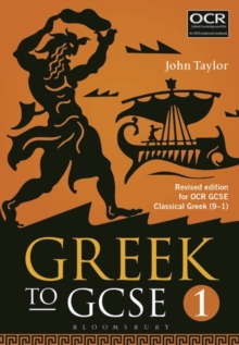 Greek to GCSE: Part 1 : for OCR GCSE Classical Greek (9-1), Paperback Book