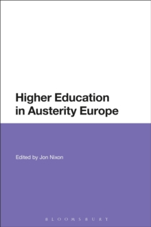 Higher Education in Austerity Europe, Hardback Book