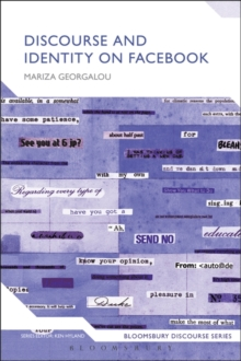 Discourse and Identity on Facebook, Hardback Book