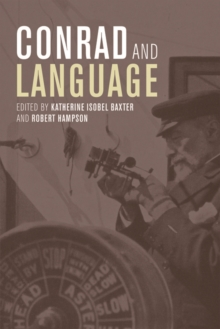 Conrad and Language, Hardback Book