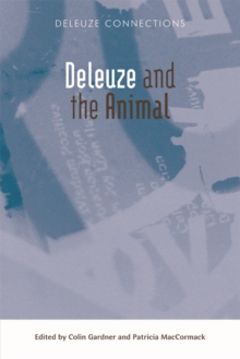 Deleuze and the Animal, Paperback Book