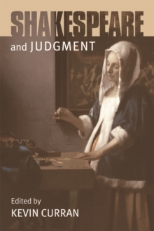 Shakespeare and Judgment, Paperback Book