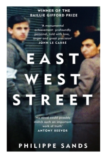 East West Street : Non-fiction Book of the Year 2017, Paperback Book