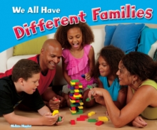 We All Have Different Families, Paperback / softback Book