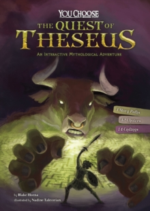 The Quest of Theseus : An Interactive Mythological Adventure, Paperback / softback Book
