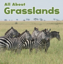All About Grasslands, Hardback Book