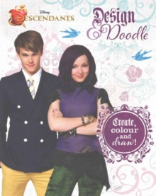 Disney Descendants Draw, Inspire, Create Sketchbook, Paperback Book
